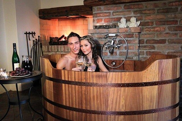 Vinné koupele