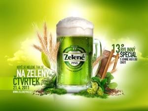 Zelené pivo o Velikonocích bude i letos. Navařeno je v rekord... #Pivo