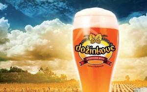Dožínkové pivo