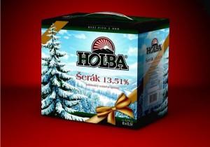Holba Šerák - sváteční balení