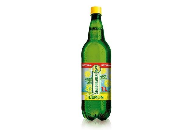 Staropramen Cool Lemon v plastové lahvi
