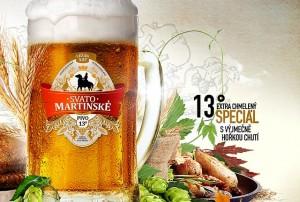 Speciální 13° Svatomartinské pivo ochutnáte letos poprvé #Pivo