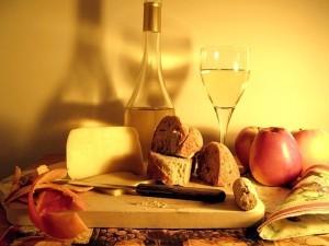 Víno a sýr