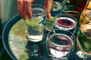 Panáky alkoholu