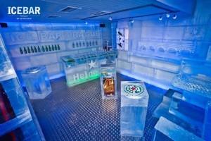 Bar z ledu v Praze je otevřen. Fungovat bude i v létě #Alkohol