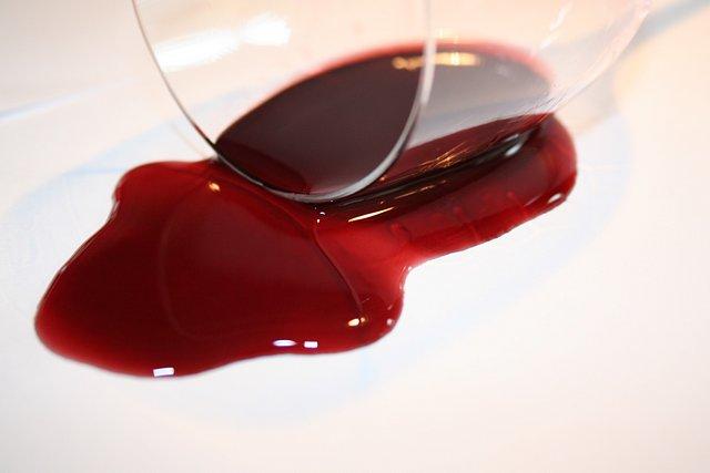 Rozlité víno