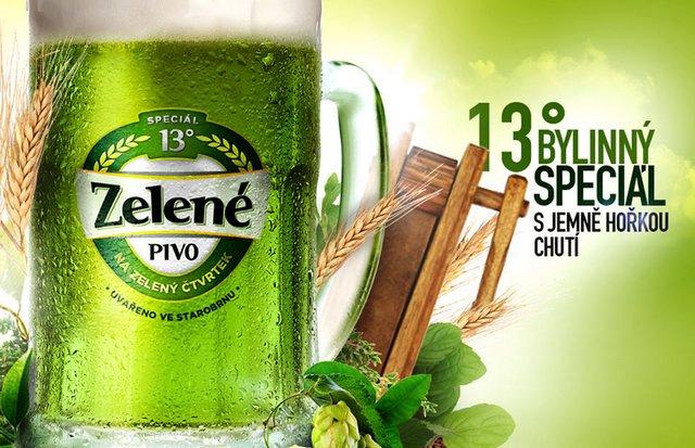 Zelené pivo