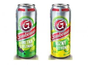 Gambrinus - Limetka a bezinka a Řízný citrón
