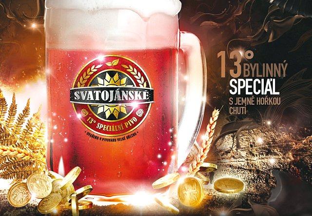 Svatojánské pivo