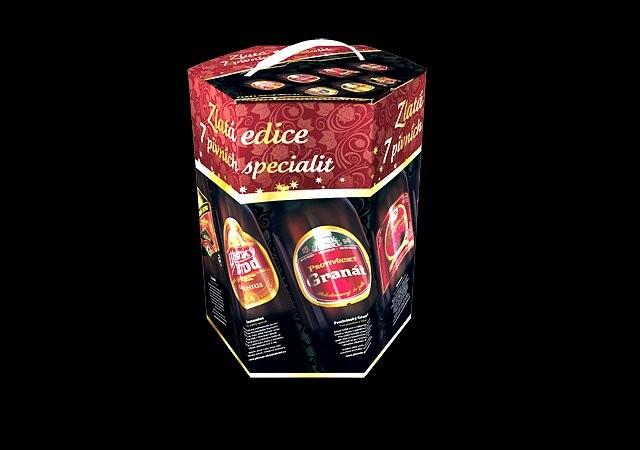 Vánoční balení pivních speciálů od Pivovarů Lobkowicz
