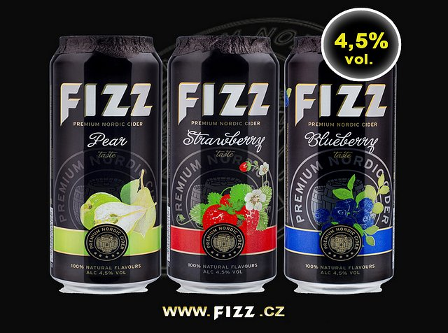Cidery Fizz v novém designu plechovky