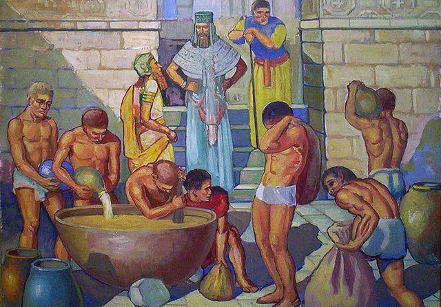 Starověká výroba piva
