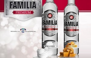 Vodka Familia Whipped a Familia Toffee