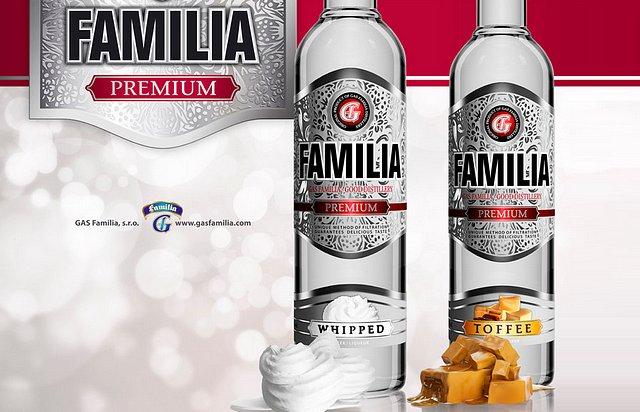 Vodka Familia Whipped a Familia Toffee