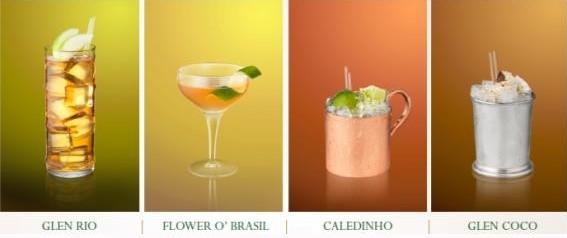 Ballantine's Brasil - 4 koktejly