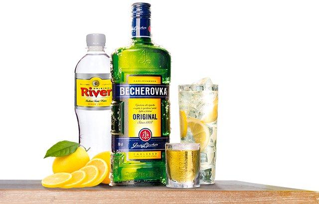 BETON – Becherovka a tonic