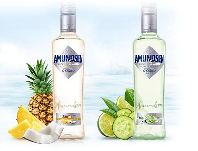 Amundsen Pineapple & Coco a Fresh Cucumber & Lime