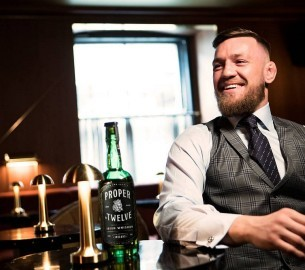 Conor McGregor a Whiskey Proper No. Twelve