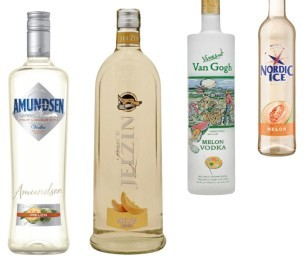 Melounové vodky Amundsen, Jelzin, Van Gogh a Nordic Ice