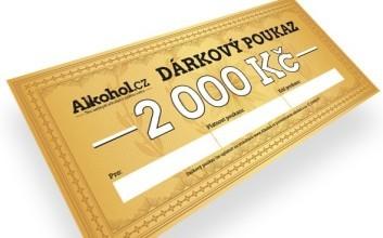 Alkohol.cz — Dárkový poukaz na 2000 Kč (2)