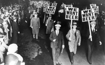 Prohibice alkoholu (1) – Protestující v Alabamě