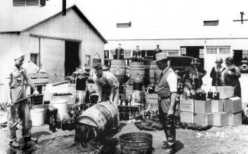 Prohibice alkoholu (3) – Vylévání alkoholu